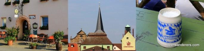 buttenheim löwenbräu banner