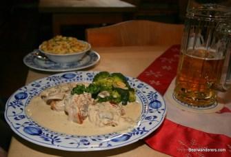 pork in creamy sauce