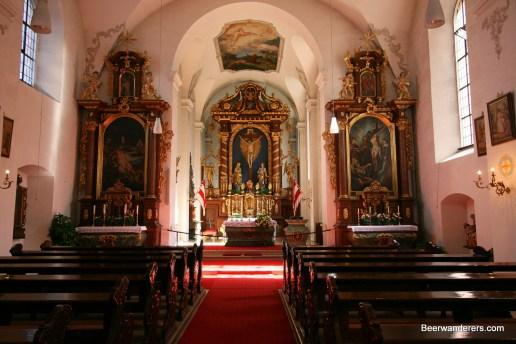 church interior
