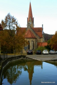 church and reflection