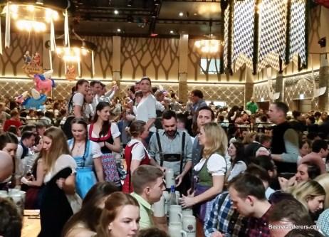 crowds at Starkbierfest
