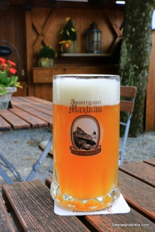 oberammergau maxbräu beer