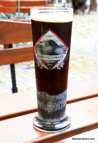 dark beer in glass