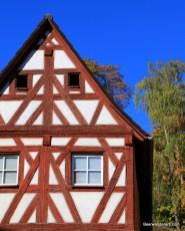 half-timbered house