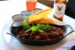 spicy stew with beer