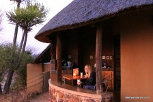 blond camping at olifants kruger