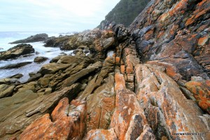 boulders on beach