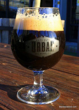 dark beer in goblet