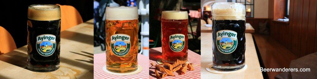 ayinger beer banner