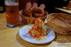 cheese spread with beer