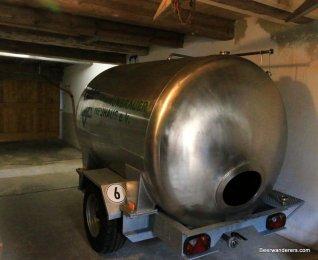 metal tank