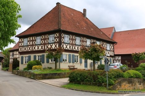 half-timbered house uetzing