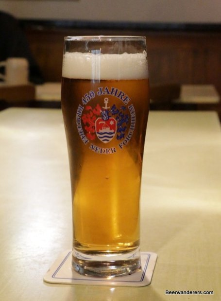 golden beer in glass