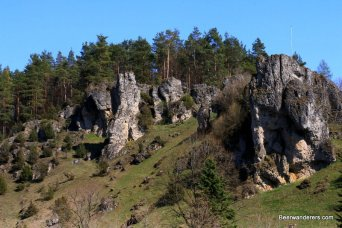rocky outcroppings