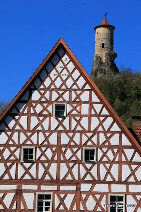 castle tower ruin