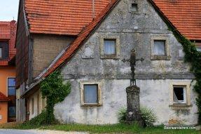 small village crucifx