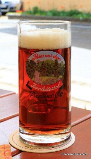 dark amber brew