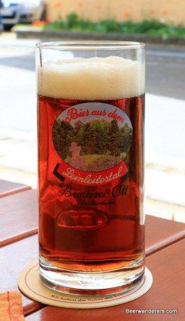 dark amber brew in mug
