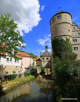 tower on river