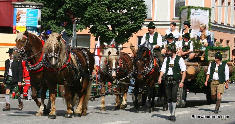 wiesn parade