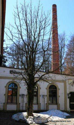 brewery chimney