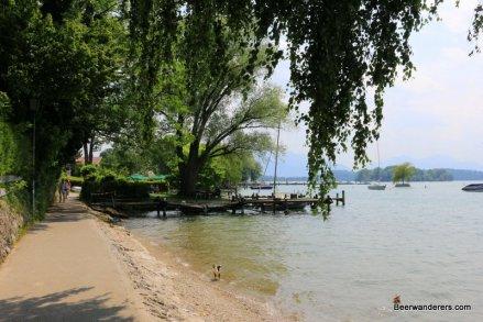 path along lake