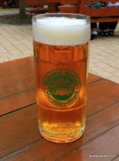 amberg beer in logo mug
