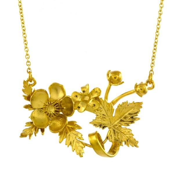 Alex Monroe, Floral Fayre Necklace