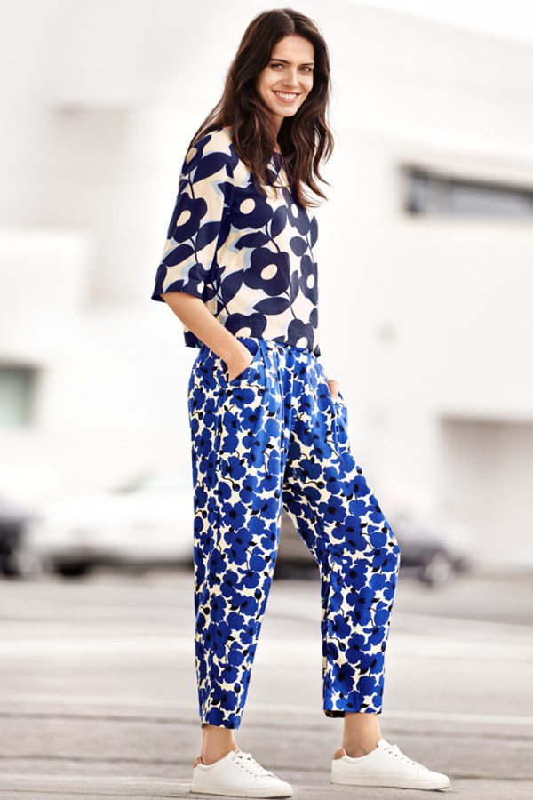 H&M, Floral Trousers