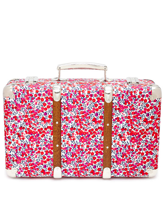 Liberty, Flowers of Liberty Wiltshire Mini Suitcase