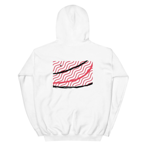 """""""Abstract lines"""" men's hoodie high quality"""