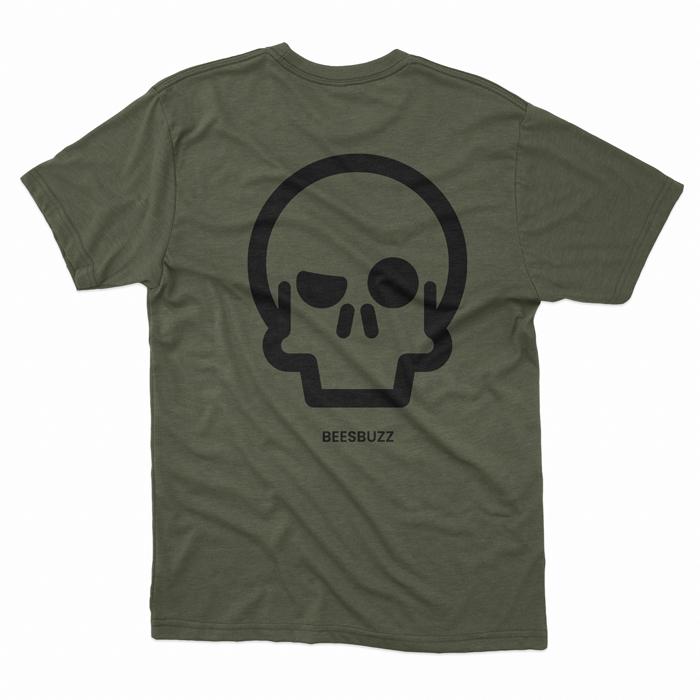 BC skull T shirt men KAKHI 1