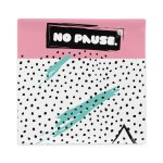 """Couch pillow case """"No pause"""" great quality"""