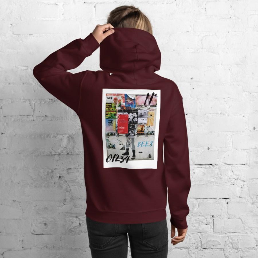 unisex heavy blend hoodie maroon back 6140acc43b3c4