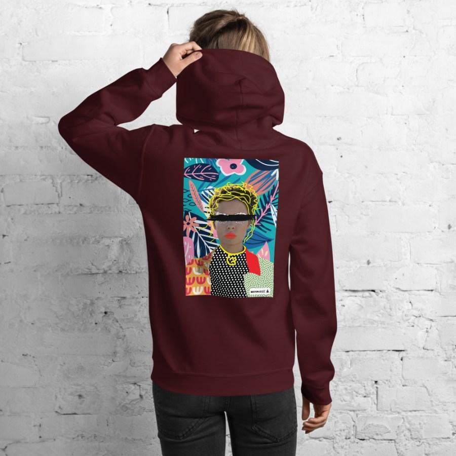 unisex heavy blend hoodie maroon back 6148caaf8eea5