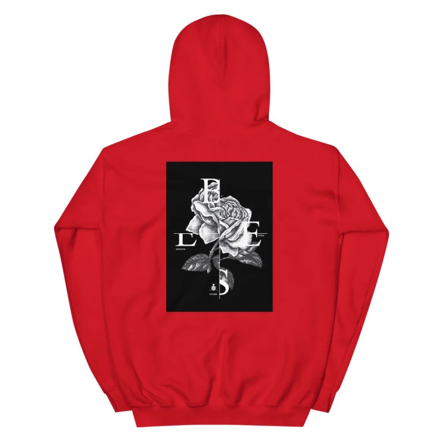 unisex heavy blend hoodie red back 6148c7b0a8a32