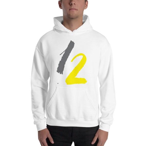 """Men Hoodie """"number 12"""" high quality"""