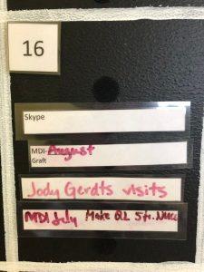 Jody Gerdts visits the HUB