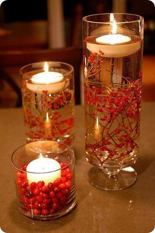 By marisa villarreal reading, writing, and arithmetic: DIY Floating Candle Centerpieces Tutorial | BeesDIY.com