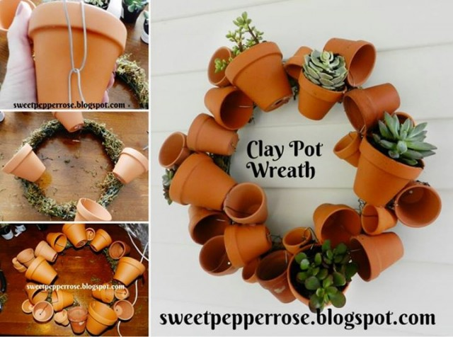 20+ Amazing Clay Pot DIY Projects for Your Garden4