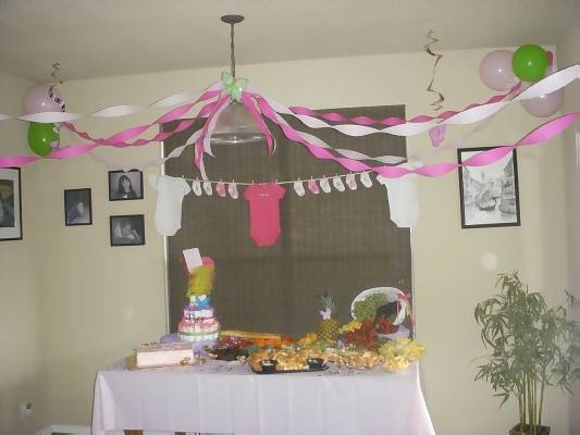Image Of Baby Shower Decorations Ideas