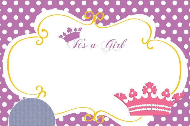 Free Printable Princess Crown Baby