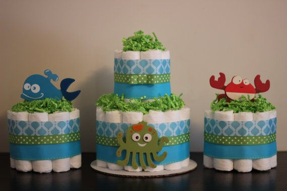 Planning Gender Neutral Baby Shower Diapers Cake Free