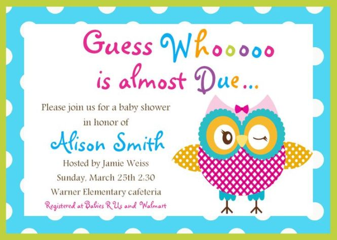 Where To Baby Shower Invitation Free Printable