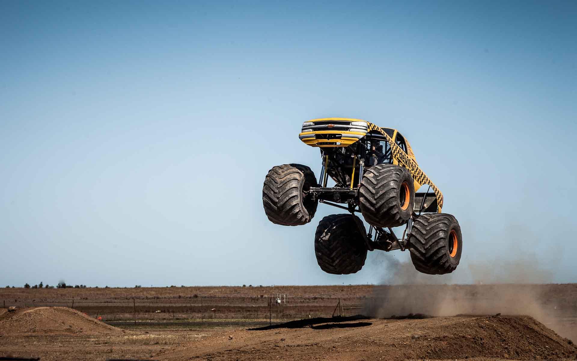 free printable monster truck baby