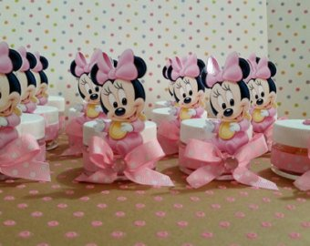 Minnie Mouse Photo Baby Shower