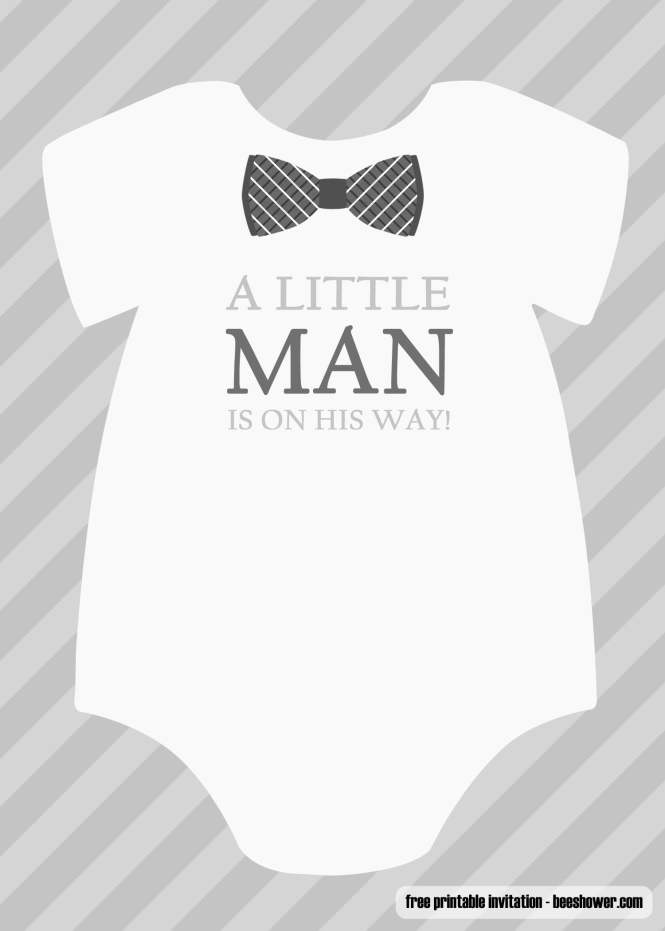 Boy Baby Shower Invitations Templates