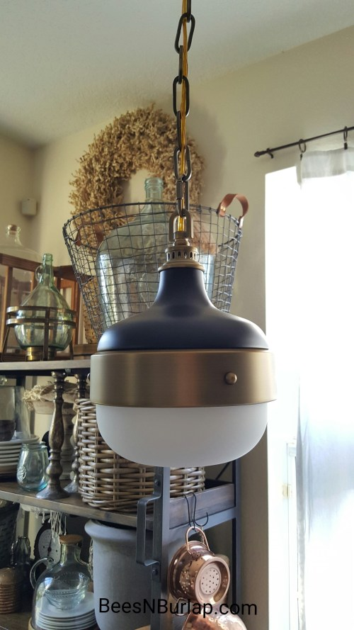 lamps plus industrial pendant light