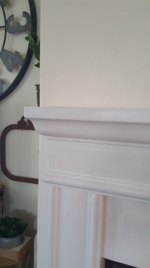 Fireplace White Primer Paint