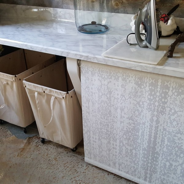 One Room Challenge Urban Industrial Vintage Laundry Room REVEAL